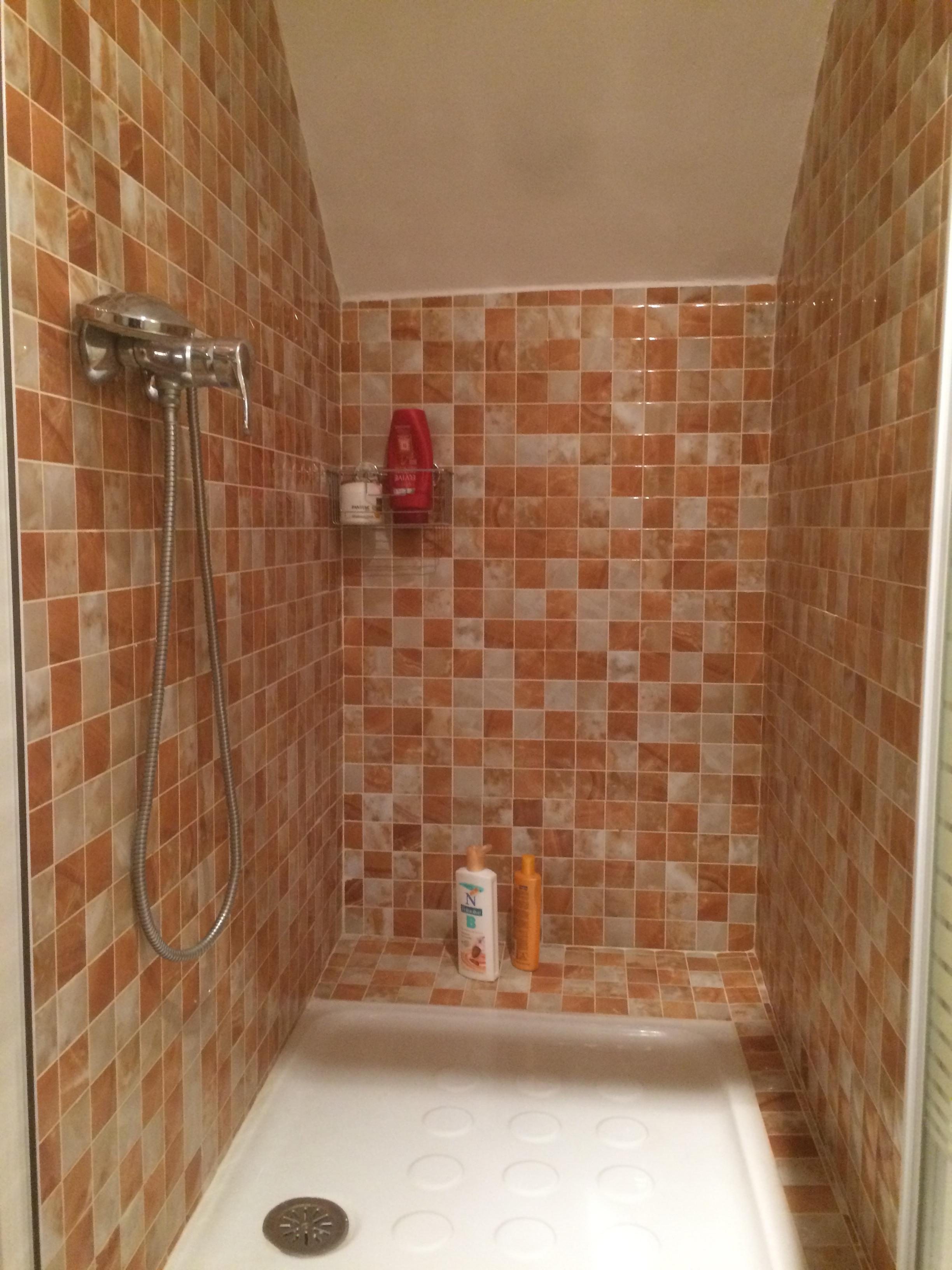 Rianje construcci n y reformas ba o con ducha debajo for Escaleras con medio bano