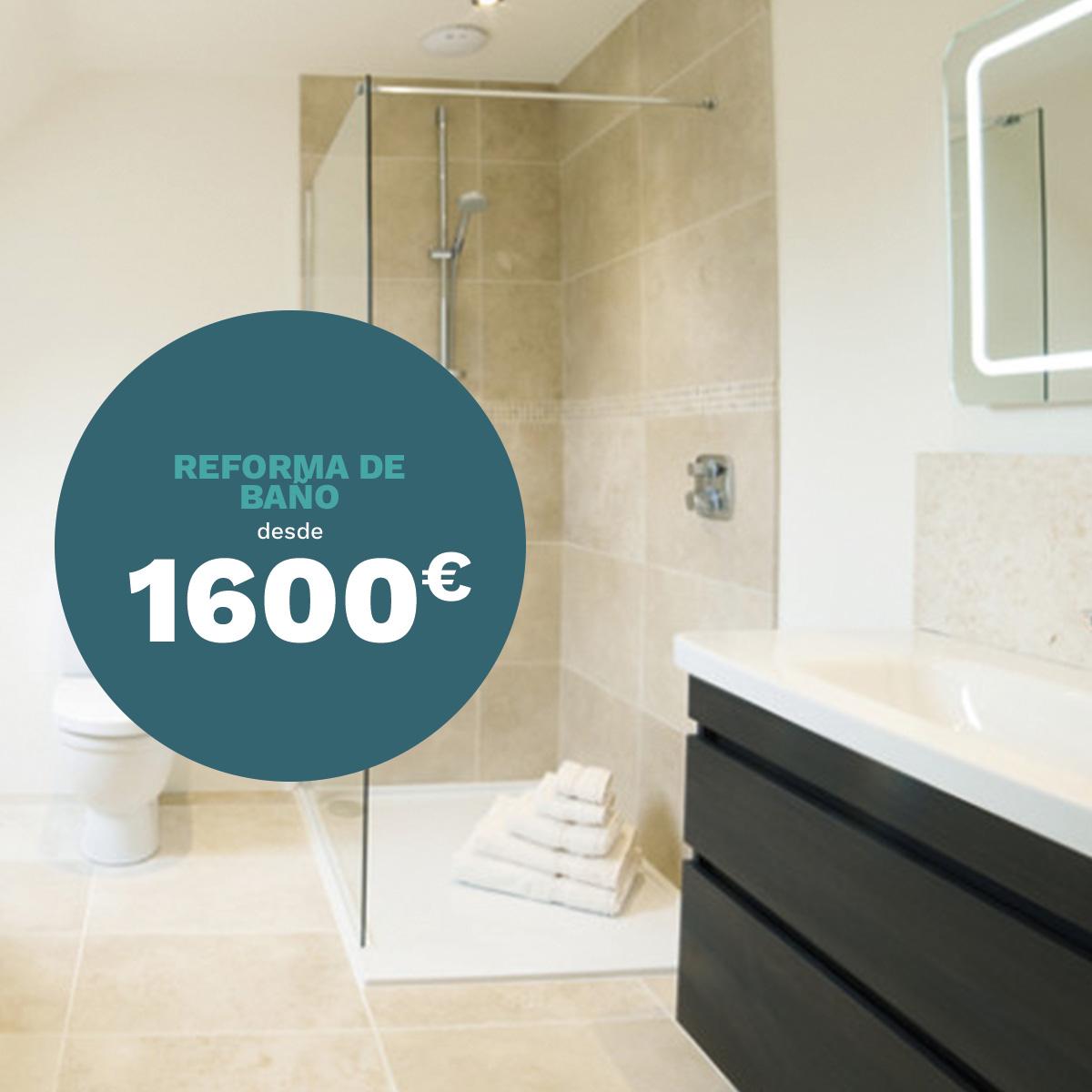 RIANJE · Construcción y reformas Murcia · Reforma barata de baño