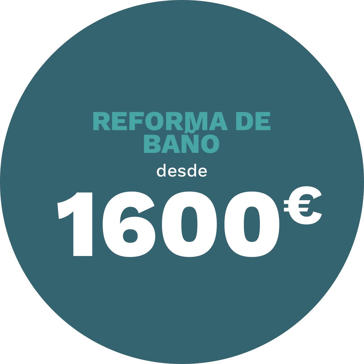 RIANJE · Construcción y reformas · Reforma tu baño desde 1600€